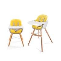 Столик для кормления малыша детский Многофункциональный стул для еды устойчивый деревянный стул портативный детский стул ребенок обучени