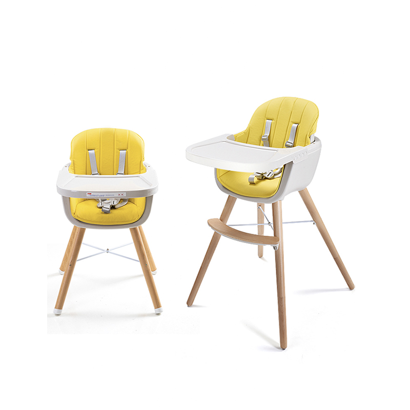 Baby dining chair children multifunctional eating chair solid wood stool portable baby chair baby learning sitting dinette