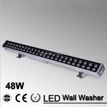 48 Вт Светодиодный прожектор Точечный светильник светодиодный настенный светильник 48 Вт 1000 мм* 70*55 мм AC85-265V IP65 Водонепроницаемый светодиодный настенный светильник наружный светильник ing