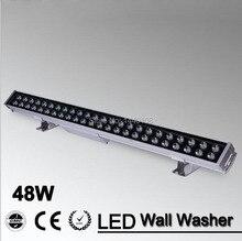 48 Вт led наводнений пятно света LED Wall Washer Свет 48 Вт 1000 мм * 70*55 мм AC85-265V IP65 Водонепроницаемый RGB Мыть Наружного Освещения