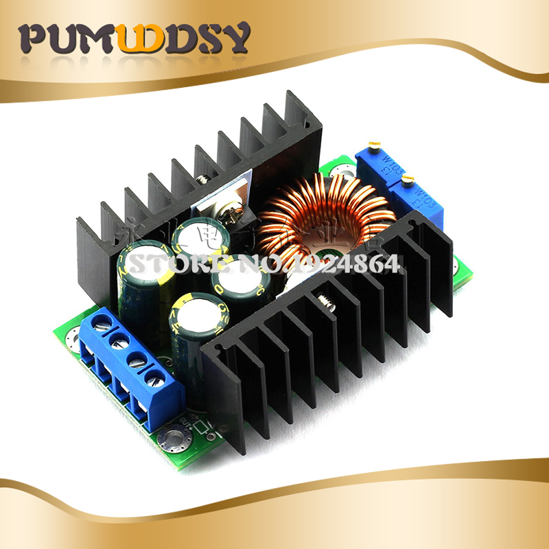 DC CC Max 9A 300W Step Down Buck Converter 5-40V To 1.2-35V Power Supply Module XL4016 LED Driver Low Output Ripple