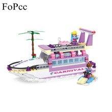 Фотография Children Education Toys 318pcs City Girl Friends Dolphin Cruiser Yacht Building Block Compatible Brick Toy 14508 Legoings