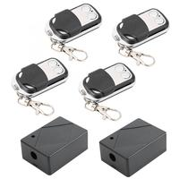 Door Remote Control 2V4 Wireless Remote Control Switch Transmitter Receiver Set Door Access Control System garage door opener