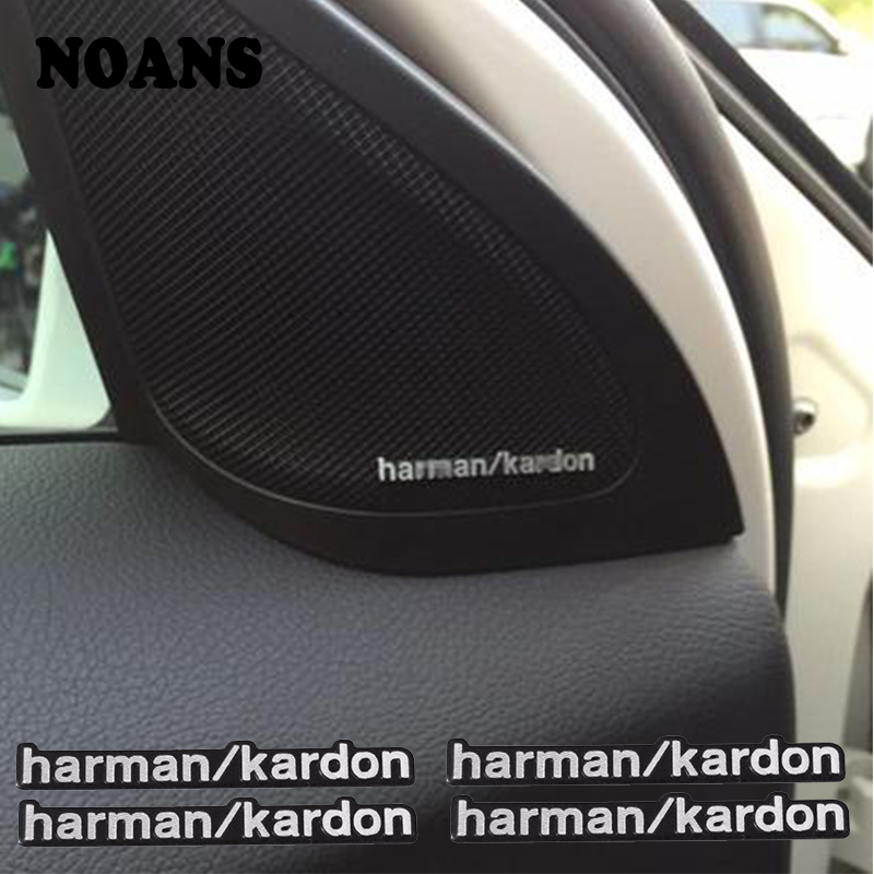 Car Audio Speaker Stickers Car-Styling For Mini Cooper Nissan Qashqai Juke Tiida Note X-trail Peugeot 307 407 308 207 208 508