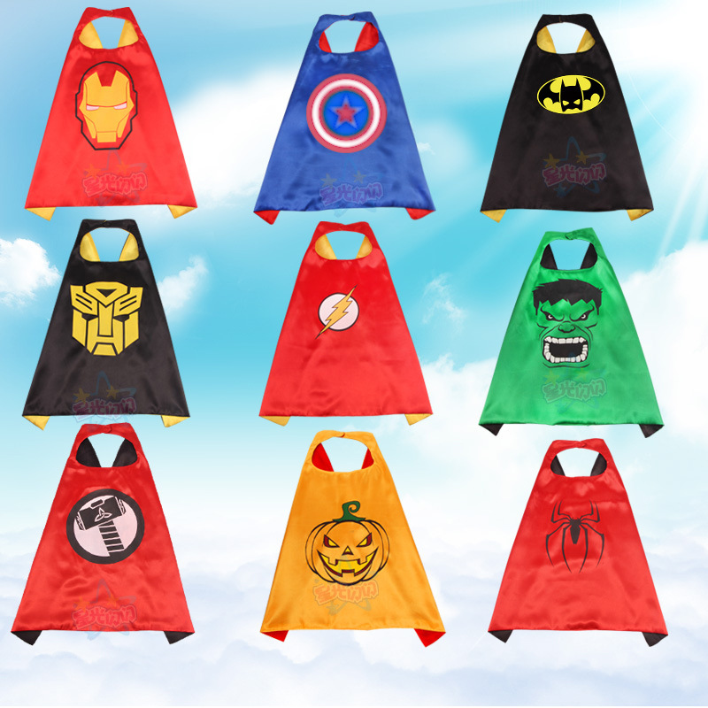 Cosplay Costumes and Halloween Gift Cape and Mask Set Patrol Costume kids birthday party favor Superhero Style