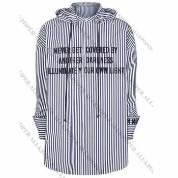 ALLKPOPER KPOP  JIMIN Striped Shirt Bangtan Boys Wings Fansigning Embroidery Blouse - DISCOUNT ITEM  30% OFF All Category