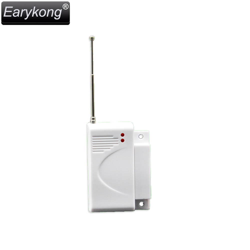 Hot Selling 433MHz Wireless Door Window Open Detector Door Open Sensor For Home Burglar Alarm System For Wifi GSM Alarm System wireless multi function door sensor magnetic window detector for security alarm system automatic door sensor 433mhz