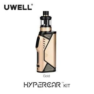 Image 4 - UWELL Kit de cigarrillo electrónico Hypercar, atomizador de tanque giratorio de 2/3, 5ml, funciona con batería 18650 (sin batería), 80W