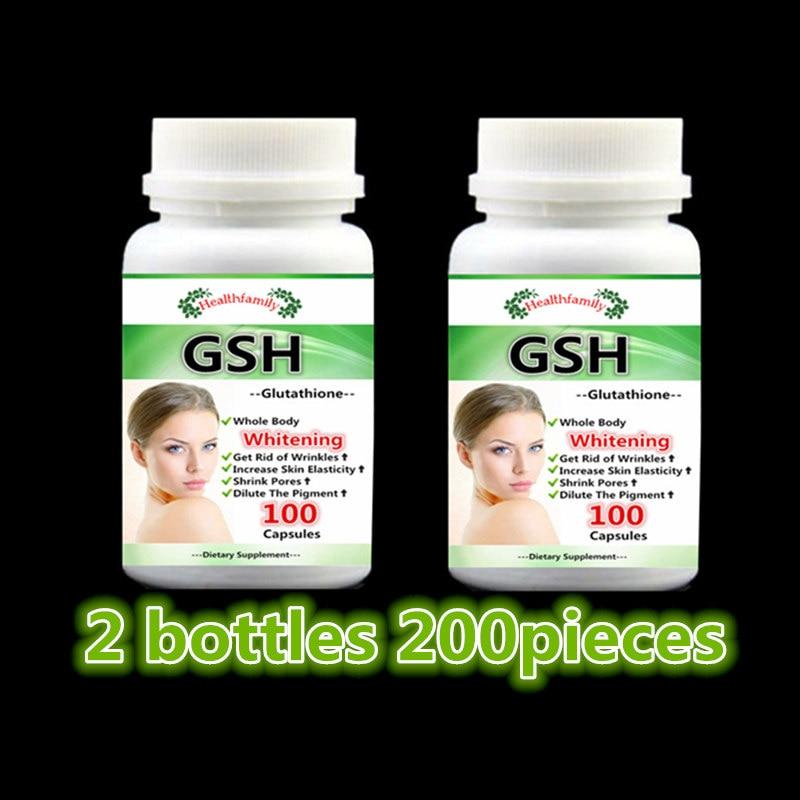 (gsh) para Branqueamento/clareamento da Pele, Oxidante Garrafa 200 Pcs 2,