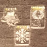 LED decorative lamp interior festival decoration full of stars shape color lights