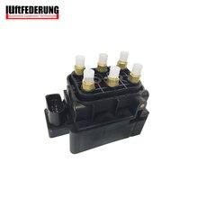 Luftfederung новая подвеска Клапан воздуха блок питания электромагнитный воздушный Клапан для Audi A6 A8 VW Phaeton Бентли 4f 4f0616013 3d0616013b