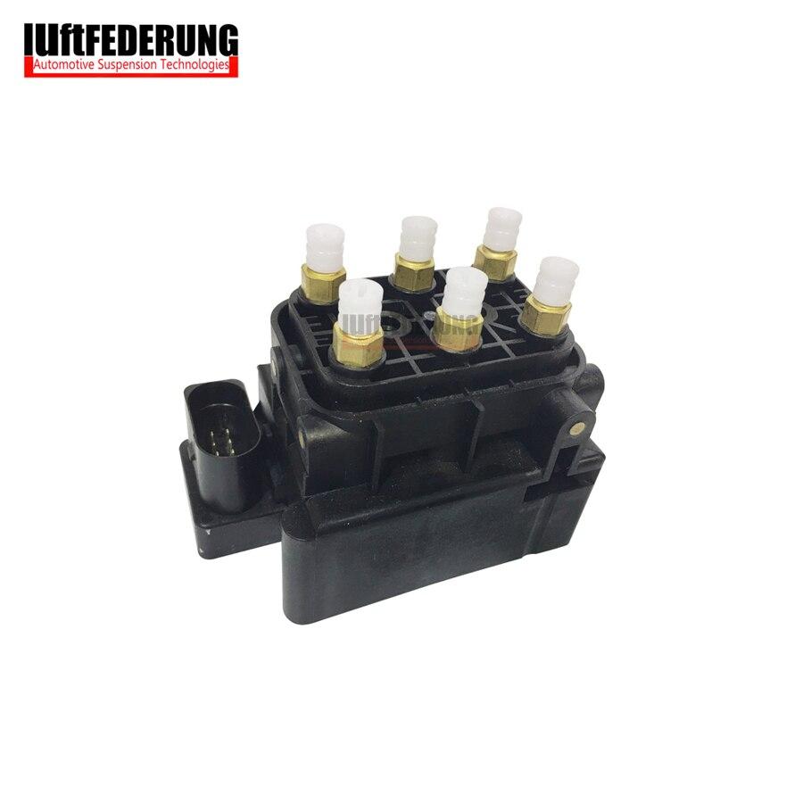 Luftfederung New Suspension Valve Block Air Supply Solenoid Air Valve for Audi A6 A8 VW Phaeton Bentley 4F 4F0616013 3D0616013B