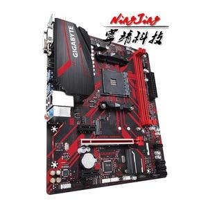 Image 3 - Gigabyte GA B450M GAMING (rev. 1.0) AMD B450 /2 DDR4 DIMM /M.2 /USB3.1/micro atx/nuovo/Max 32G scheda madre AM4 a doppio canale