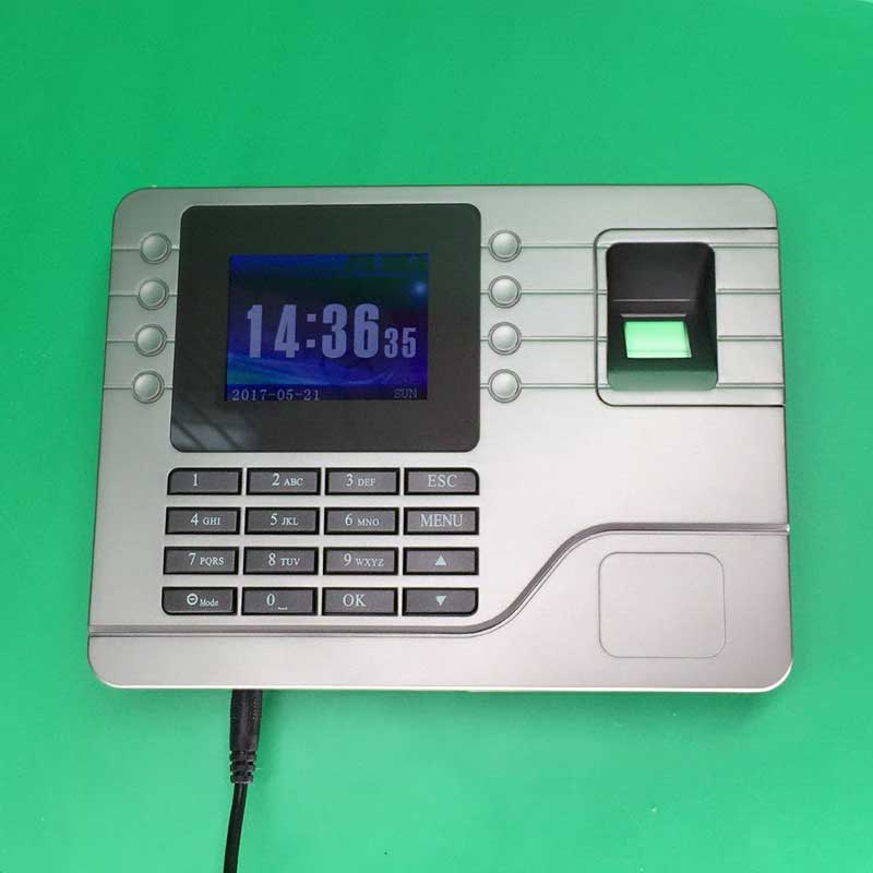 N108 Biometric Fingerprint Time Clock Recorder Attendance Employee Electronic Punch Reader Machine Realand free shipping a c061 biometric fingerprint time clock realand biometric fingerprint time attendance