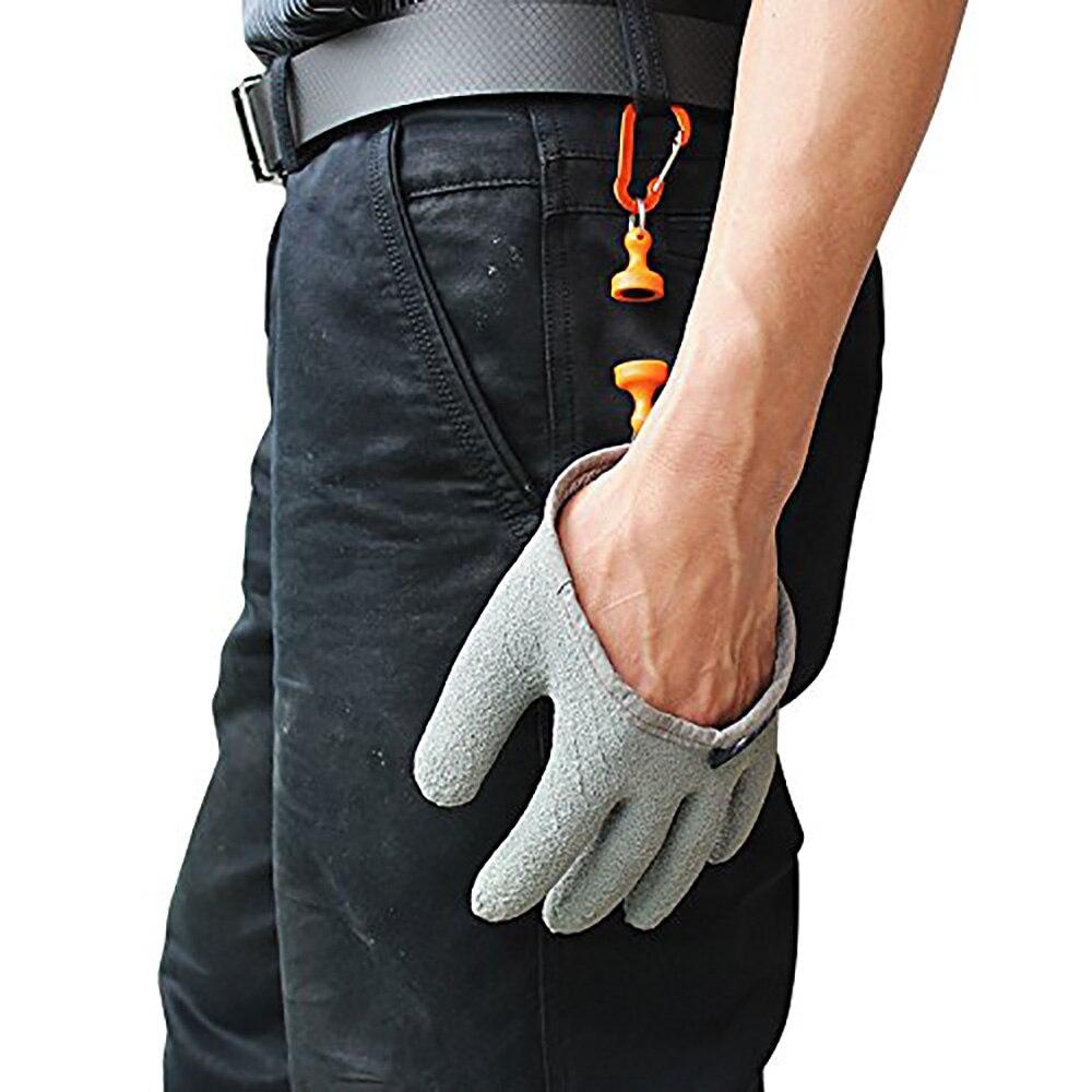 6 stücke Topind Angeln Handschuhe Professionelle Wasserdichte Fische Fangen Handschuhe mit Magnet Release Haken Angeln Jagd Handschuhe-in Fischerhandschuhe aus Sport und Unterhaltung bei