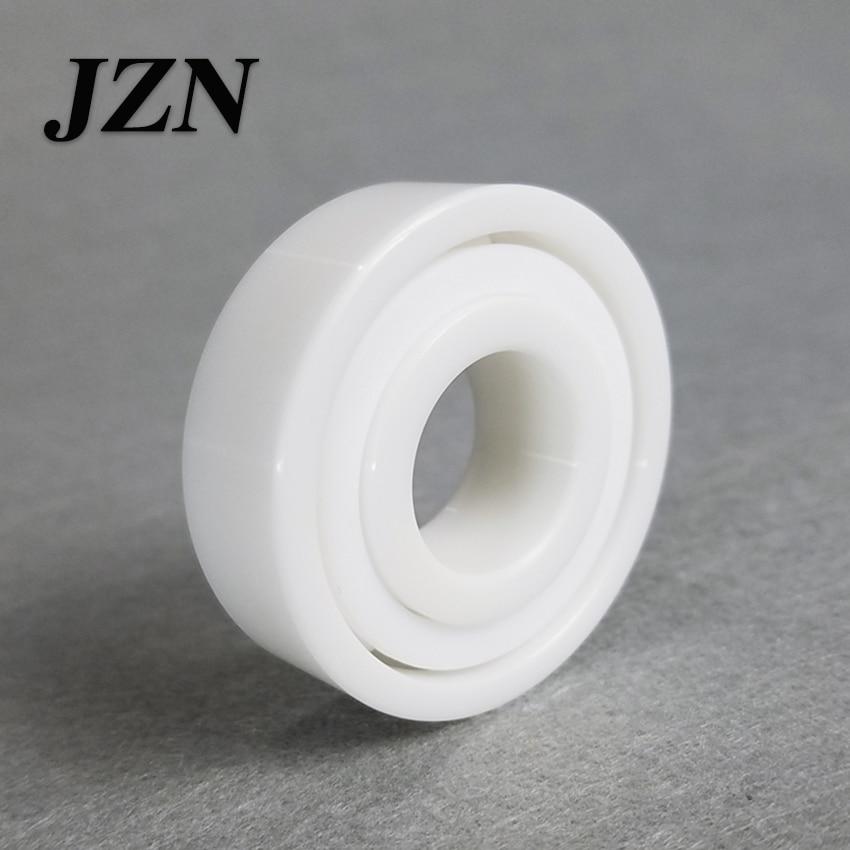 Free shipping 6200 6201 6202 6203 6204 6205 6206 6207 6208 6209 6210 full ZrO2 ceramic ball bearing zirconia bearing цена и фото