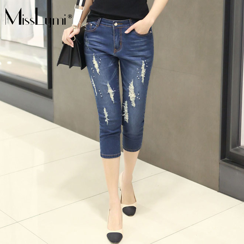 High Quality Jeans Rhinestones Women-Buy Cheap Jeans Rhinestones ...