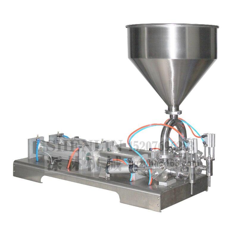Max. 250 ml macchina di rifornimento colla più accurata di olio di riempimento macchina di rifornimento liquida, crema di smistamento macchina di rifornimento macchina di imbottigliamento