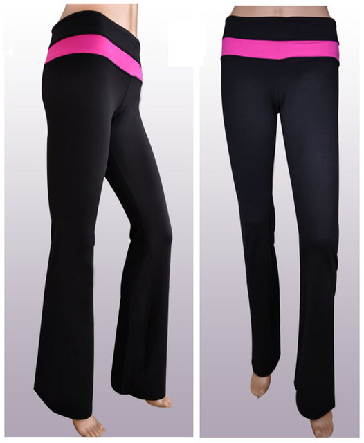 pink yoga pants cheap - Pi Pants