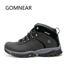 Men's Waterproof Hiking Shoes Antiskid Trekking Hunting Shoes Comfortable Trend Sneakers for Male Mountain Climbing Shoe