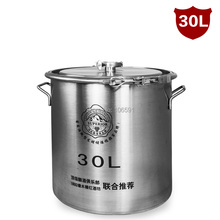 Высокое качество 30л шейка, 304 нержавеющая сталь бочка, пивные брожения резервуары, сваренное вино ферментеры