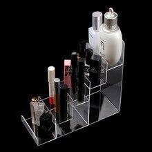 New Fashion Acrylic Makeup 5 layer Organizer Nail Polish Display Cosmetic Rack Storage Glasses Wallet Rack Free Shipping