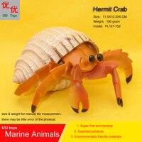 Горячие игрушки отшельник моделирование модели морской Животные морских животных подарок для ребенка образовательных реквизит фигурки