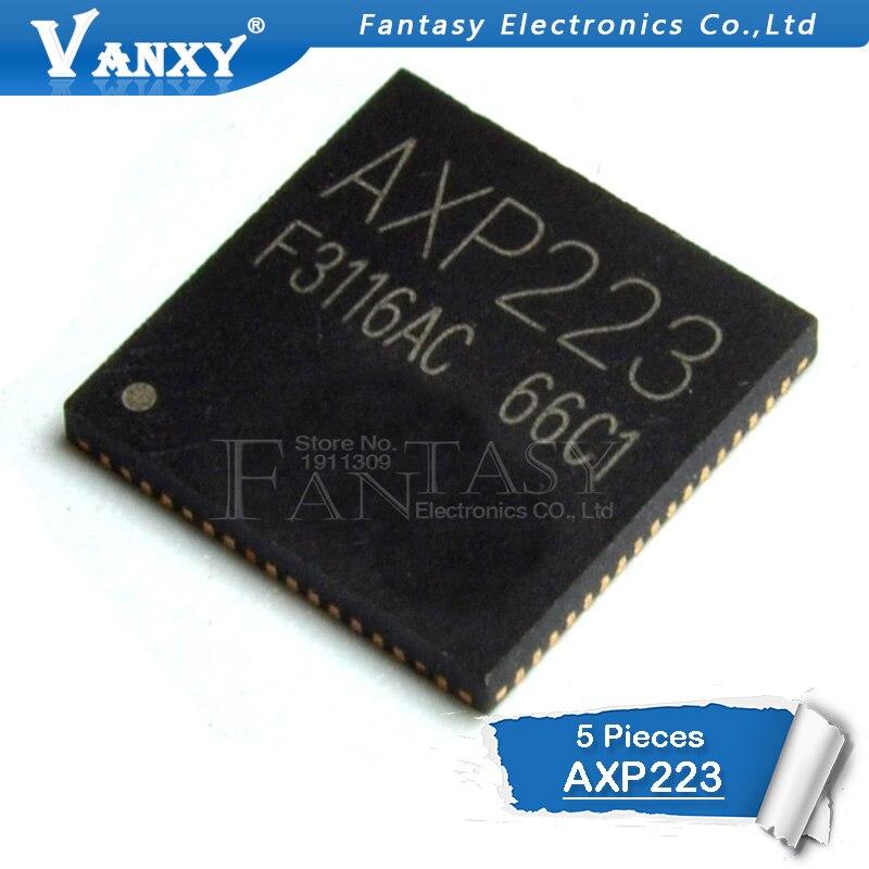 5 PCS AXP223 QFP48 SMD QFP yeni5 PCS AXP223 QFP48 SMD QFP yeni