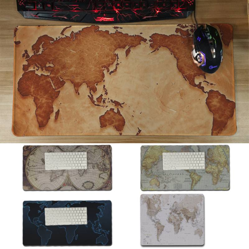 Yinuoda hot sale World map Laptop Computer Mousepad Size for 30x60cm and 30x60cm Gaming  ...