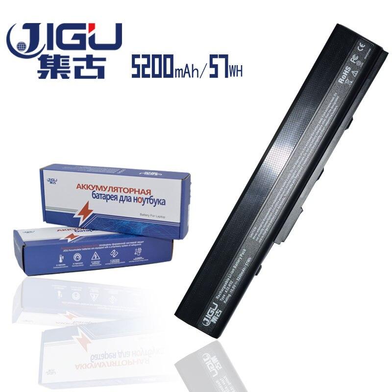 JIGU Laptop Battery For Asus A52 A52F A52J A52JB A52JK A52JR A52JR-X1 K42 K42F K42F-A2B K42JB K42JK K42JR-VX047X K42JV K52F цена