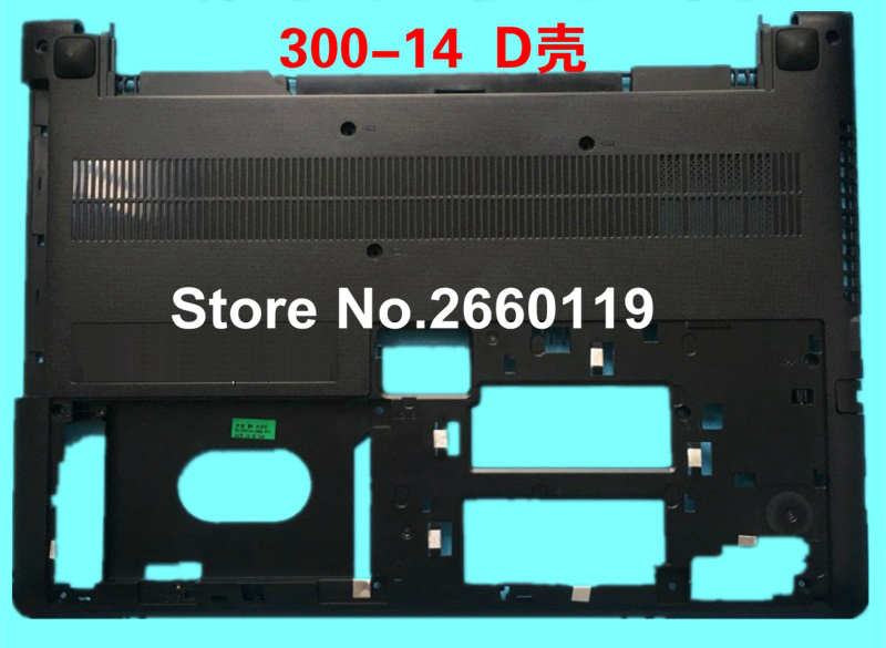 Free shipping brand new bottom case for lenovo xiaoxin 300-14 series laptop replace cover D shell