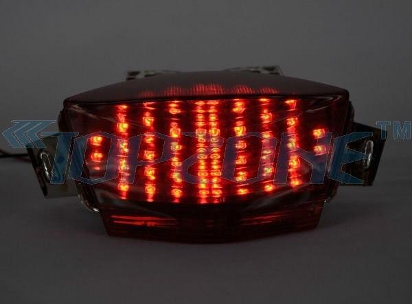 Светодиодный Встроенный задний фонарь поворотник для KAWASAKI NINJA 650R 06-07/ER-6 06-08