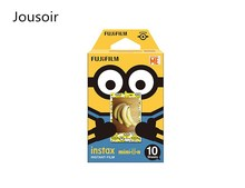 Minions Banana Fujifilm Instax Mini Film For Mini 8 7s 7 50s 50i 90 25 dw Share SP-1 Instant Photo Camera 10 sheets CD50