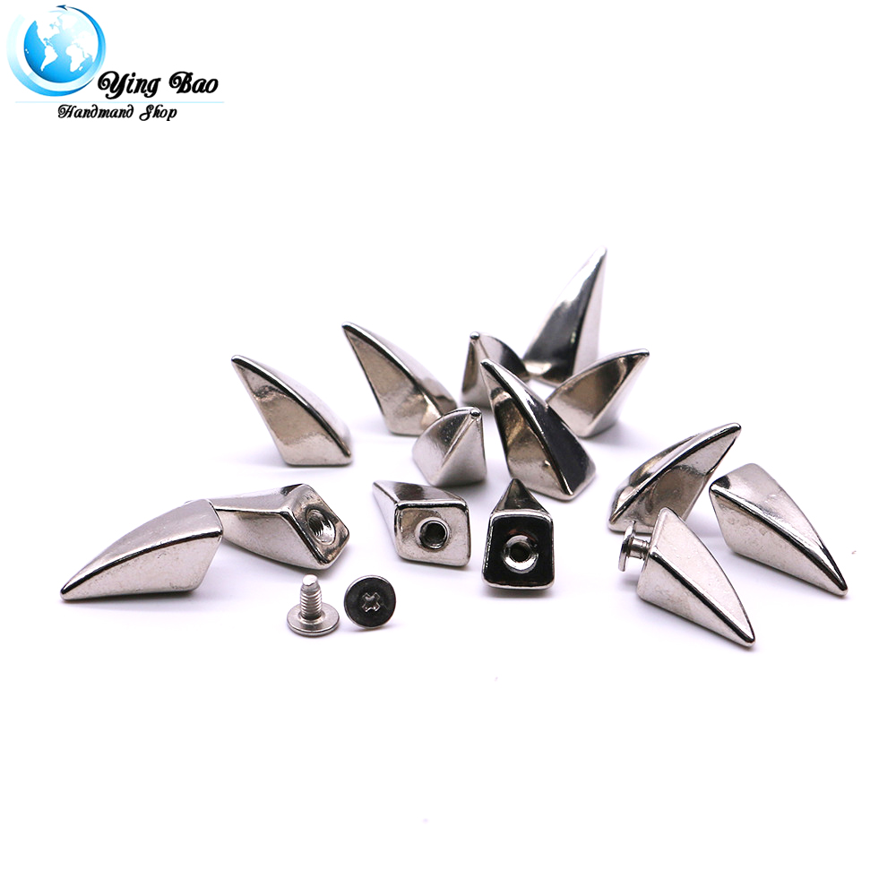 10sets/pack 11mm (Diameter), 23mm (Height)  gothic embellishment 3 Colors Claw shape dragon claw spikes B-11