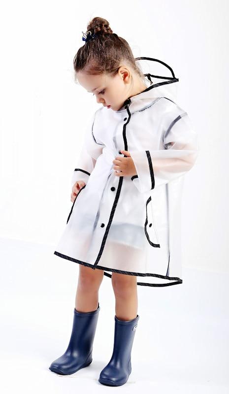 a3660b46c Aliexpress.com   Buy Kids Transparency Waterproof Rain Coat ...