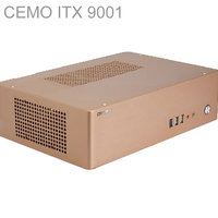 HTPC ITX Mini Case With 200W Power USB3 0 3 5 HDD 2 PCI Slots Aluminum