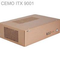 HTPC ITX Mini Case With 200W Power USB3 0 3 5 HDD 2 PCI Slots Aluminum