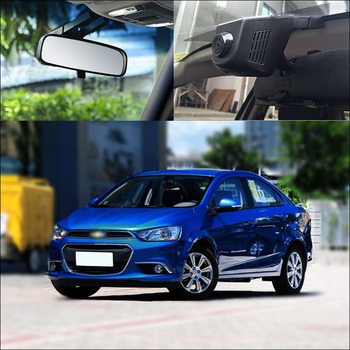 BigBigRoad For Chevy Aveo 3 Sedan APP Control Car Wifi DVR Driving Video Recorder FHD 1080P hidden type G-sensor