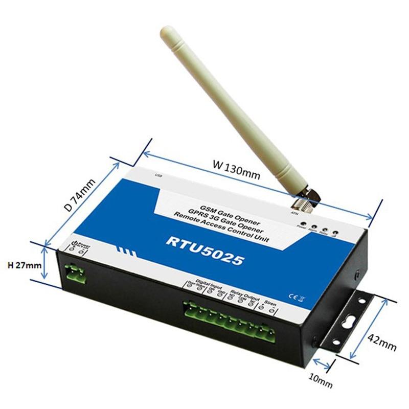 bilder für Authentische garantie 3G-TORÖFFNER RTU5025 GSM Toröffner, RTU5015 türöffner neue version fabrik verkauf König Pigeon RTU 5025