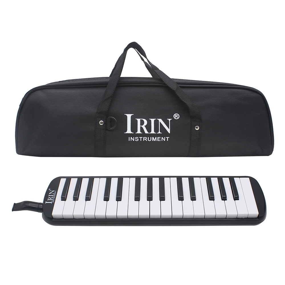 <font><b>32</b></font> Piano <font><b>Keys</b></font> <font><b>Melodica</b></font> Musical Instrument for Music Lovers Beginners Gift with Carrying Bag image
