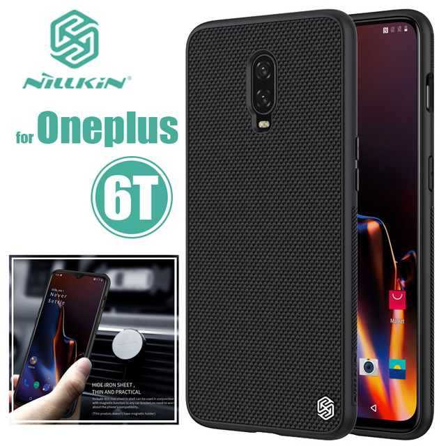 5becffdeb0 for Oneplus 6T Case Nillkin Luxury Texture Business Phone Case Oneplus6T  Slim Hard Back Cover One Plus 6T Nilkin Silicone Capa
