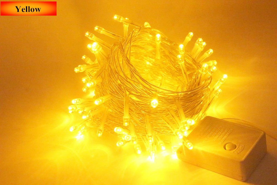 Lighting Strings wedding christmas lights led strings 10m AC220V 110V Led Strip Light Garden Garland (28)