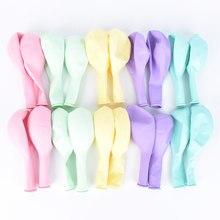 5/12/36 polegada multicolorido pastel doces balões de casamento baloons ar redondo macaron balão arco decoração