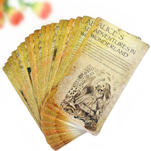 20pcs/lot Alice Postcard Greeting Cards Painting Postcard Invitation Greeeting Card Carte Postale Office School Party Supplies