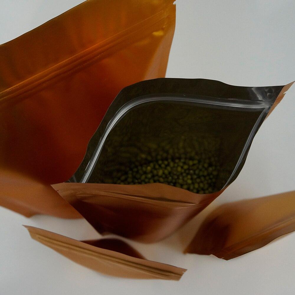 Cerradura de la joyería Ziplock zip con cremallera de plástico resellable bolsas de polietileno claro espesor 0.1