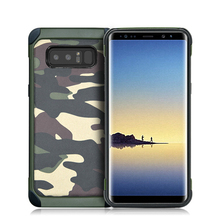 Luxury Soft TPU+PC Army Camo Camouflage Back Cover Armor Case Protective Cover For Samsung Note8 S8 S8 Plus S7 Edge S6 Edge Case