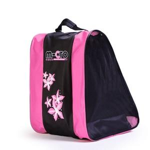 Image 5 - Quality Mcro Roller Skating Shoes Backpacks Inline Skate Shoes Shoulder Bags/Handbags 3 Colors Available Skateboard Skating Bag