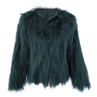 Fur Coat Jackets Women Thicken Warm Fake Fur Cool Outerwear Women Winter Faux Fur Sexy Coats