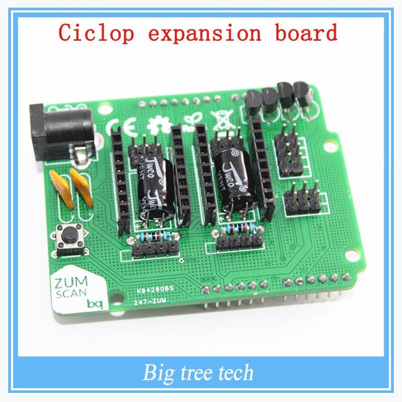 3D Printers Scanners Board Ciclop expansion board BQ ZUM driver board DIY Accessories