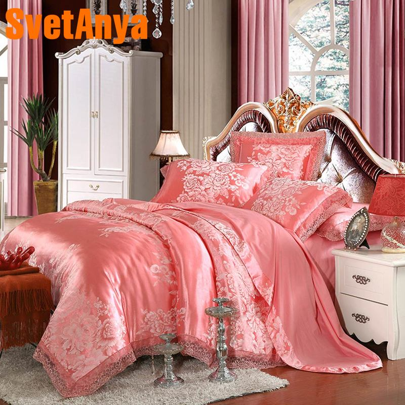 Svetanya silky Bedlinen 6in1 4in1 jacquard Bedding Set Queen sizeSvetanya silky Bedlinen 6in1 4in1 jacquard Bedding Set Queen size
